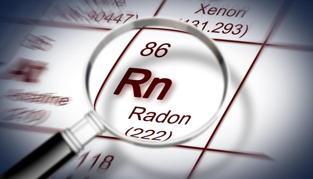 Radon kan øke risikoen for dødelig hudkreft