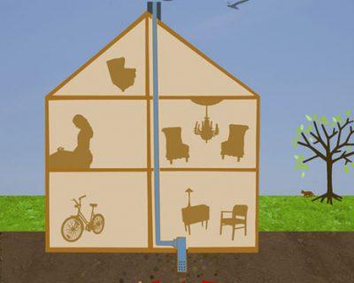 Tok grep og ble kvitt radonproblemet i huset